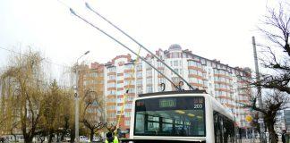 Сьогодні упродовж 3-х годин не курсуватимуть тролейбуси маршруту №4