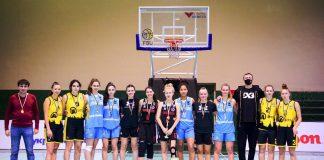 Студентки франківського вишу перемогли в турнірі з баскетболу 3х3