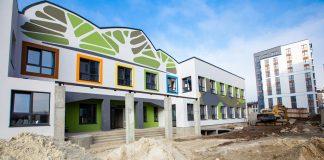 """У Франківську в """"Липках"""" завершують будівництво нового дитячого садочка"""