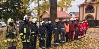 На Франківщині відбулись спільні навчання рятувальних служб ФОТО