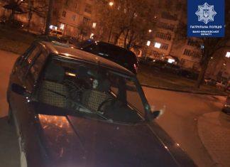 Без посвідчення водія та п'яний: у Франківську патрульні затримали винуватця ДТП