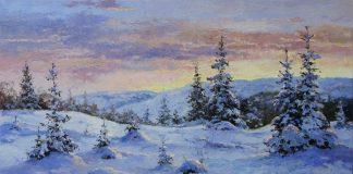 Прикарпатські художники виставили на аукціон свої картини, щоб врятувати онкохворого колегу