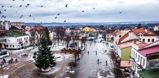 В мережу виклали неймовірні світлини засніженого Калуша із висоти пташиного лету ФОТОРЕПОРТАЖ