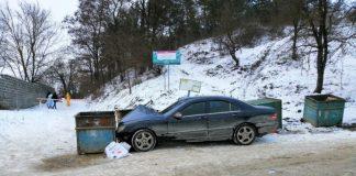 Біля підйому на Вовчинецьку гору зіткнулися відразу чотири автомобіля