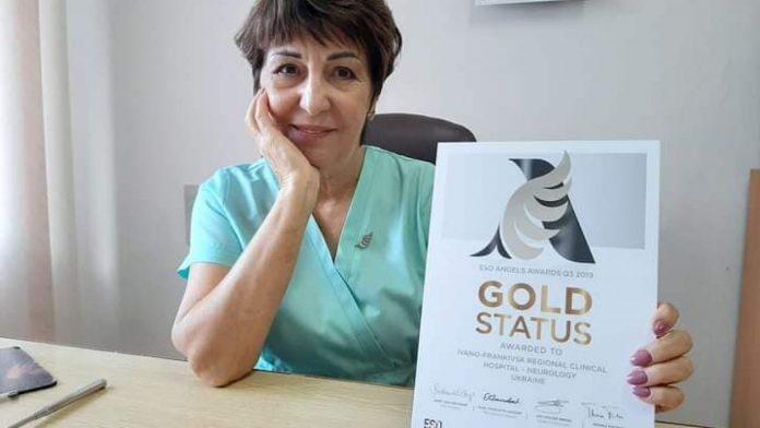 Золотий статус: відділення судинної неврології франківської ОКЛ визнано одним з кращих інсультних центрів світу