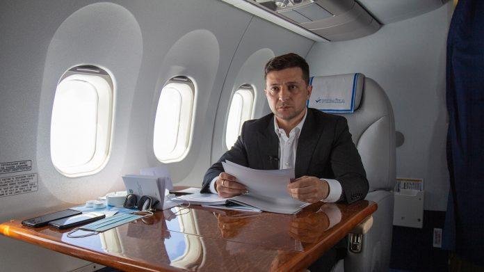 Авіаперельоти Зеленського у 2020 році обійшлися бюджету у понад 22 мільйона гривень