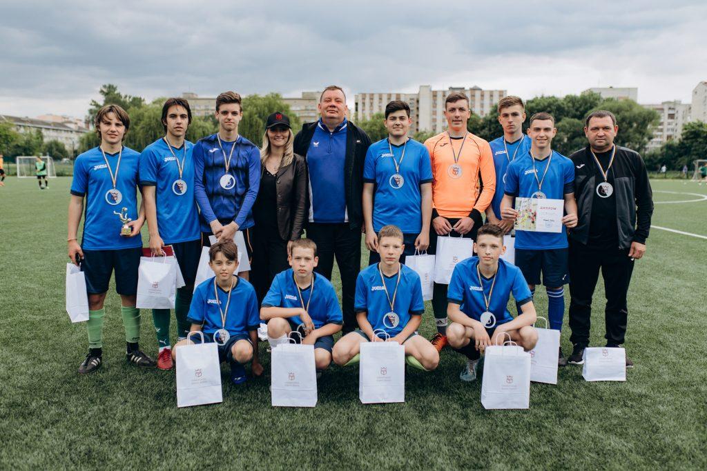 Команда івано-франківського ліцею стала переможцем турніру з мініфутболу