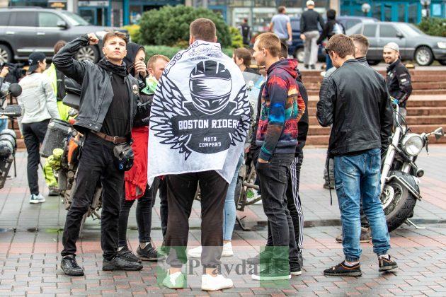 Мотопробіг Єдності: До Франківська з'їхалися мотоциклісти зі всієї України ФОТОРЕПОРТАЖ